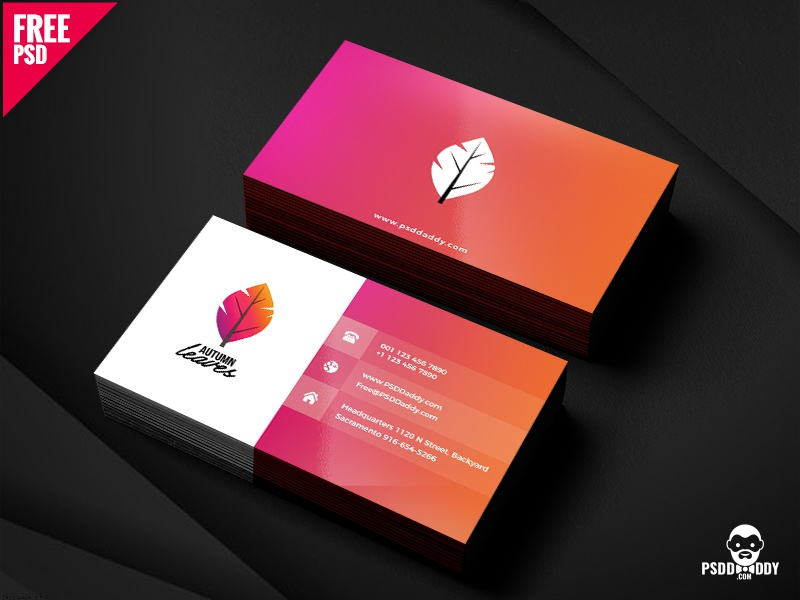 professional business card psd free download visiting card psd template psd free template free psd freebie