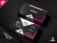 Free Business Card Design Templates Set