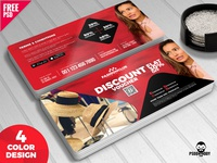 Special Discount Voucher Free PSD Bundle