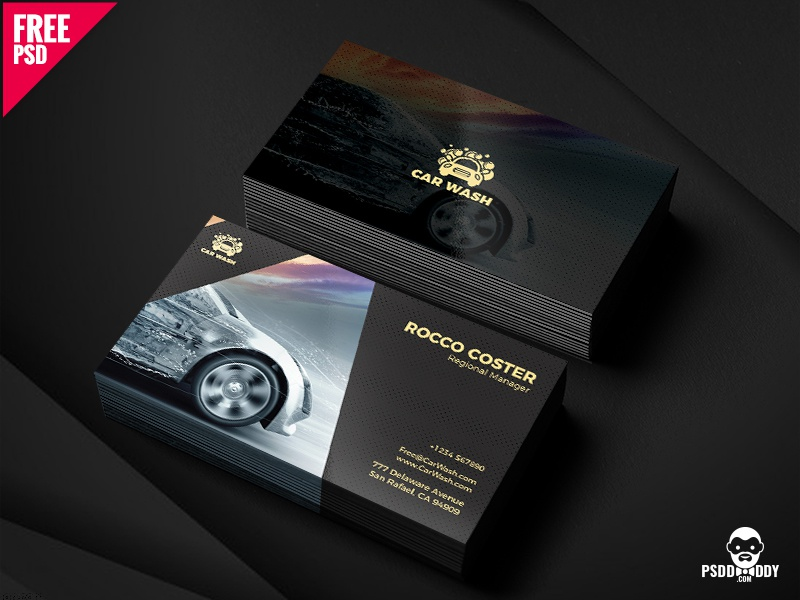 an enticing thing like the car wash business card is sure to attract more people to your business you can enjoy its high quality photos and artwork - Car Wash Business Cards