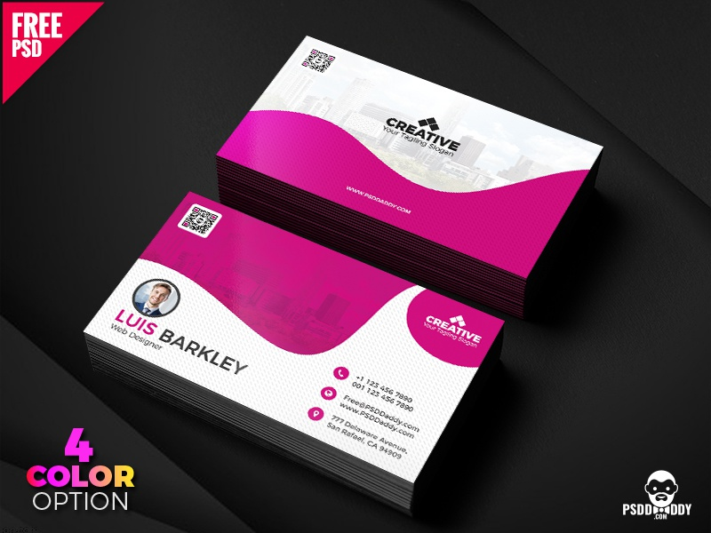 Business card design free templates set by mohammed asif dribbble download business card design free templates set make an impression in the very first meeting with a business card made by the professionals at psd daddy colourmoves