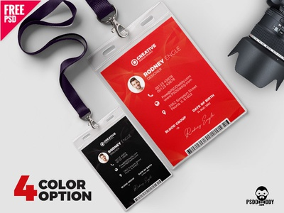 Employee Id Designs Themes Templates And Downloadable Graphic Elements On Dribbble