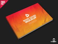 Brochure Book Cover Mockup