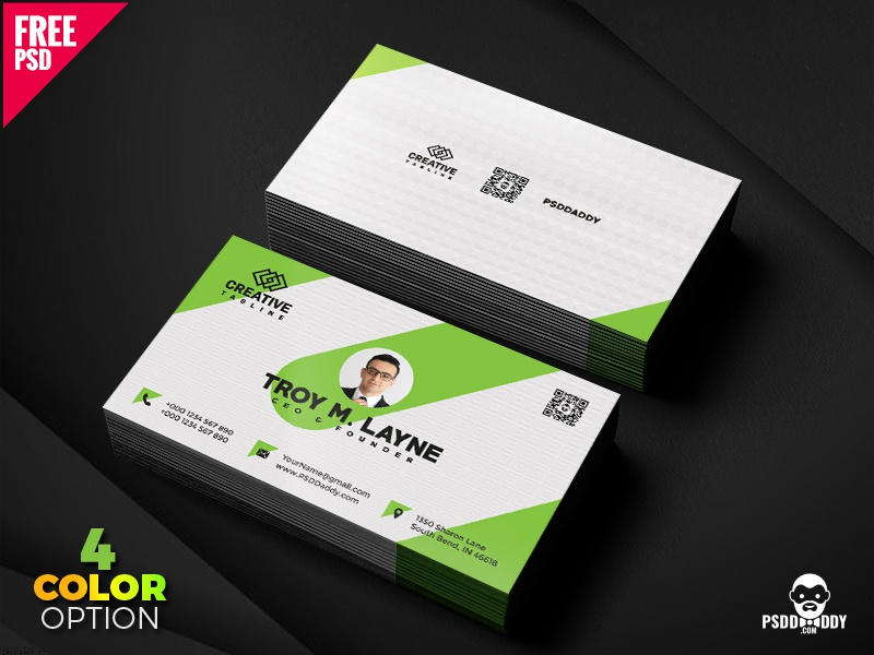 Business card template psd bundle by mohammed asif dribbble download business card template psd bundle business card is an extremely important part of any company design your very own business card by using fbccfo Image collections
