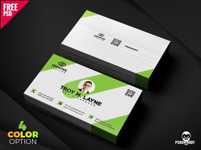 Business Card Template PSD Bundle visiting card psd template psd free template free psd freebie creative design design clean card design business card agency card