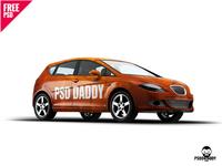 Car Mockup Free PSD