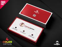 Business Card Set PSD Design