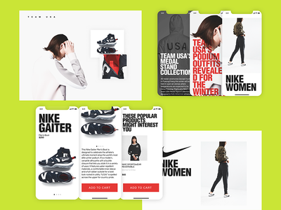 N TEAM/MOBILE//DESKTOP[COLOR] graphic design web design website web responsive minimal mobile grid fullsize figma fashion