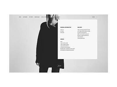 1403//2 website web design web responsive mobile minimal grid graphic design fullsize sketch fashion