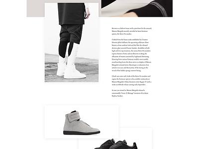 MM02 graphic design interface desktop figma website minimal responsive web fashion grid fullsize web design