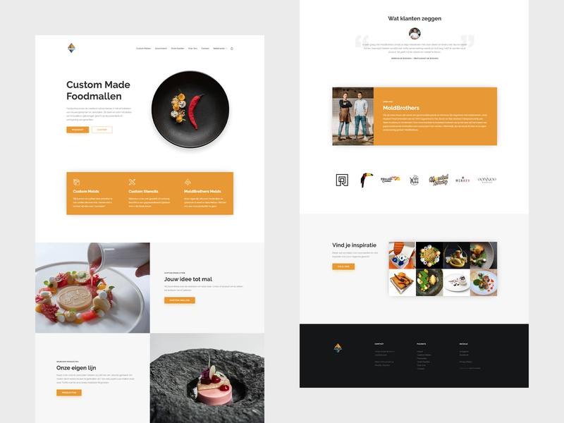 MoldBrothers - Webdesign branding website webdesign web ux ui minimal design