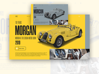"CALSSIC CAR ""MORGAN"""