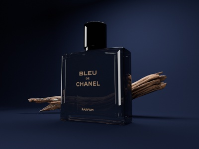 Chanel Bottle outpost agency wellness perfume design 3dart 3d c4d cinema4d