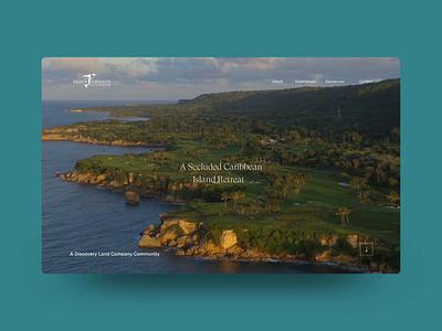Playa Grande Golf & Ocean Club hotel resort luxury holiday adventure minimal agency website interactive ux web design digital ui design outpost