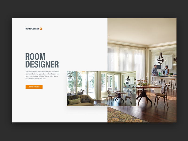 Hunter Douglas Room Designer Website Ux Ui Outpost Decor Home Interactive Digital Blinds Agency Interiors