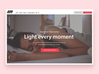 Luxaflex campaign site - Light Every Moment
