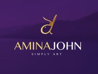 Amina John Branding