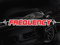 Frequency logo & website design