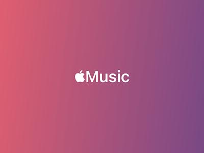Apple Music ux ui apple music ios apple