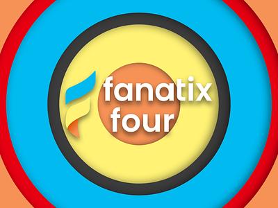 Fanatix Four Channel Rebrand podcast channel youtube rebrand