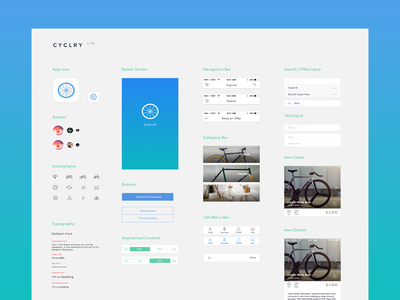Cyclry Ui Kit - v 1.0