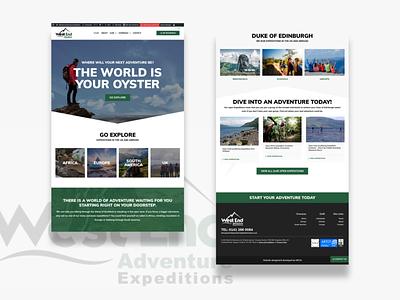 WestEnd Website Design design website webdesign landing page ui design ui  ux ui layout landingpage interface clean ui clean