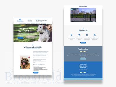 Brookfields Website Design web design website ui  ux ui ui design layout landing page landingpage interface design clean ui clean