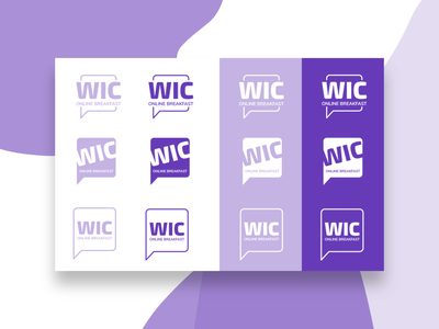 WIC Logo Development branding and identity branding agency branding design branding graphicdesign graphic design graphic logo design logodesign logo