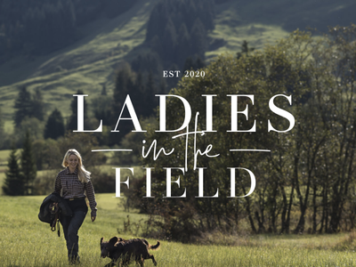 Ladies In The Field logo design logo branding brand identity brand design brand