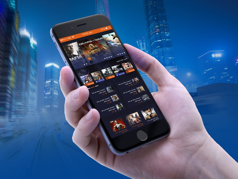 design app for games store design web ux app ui