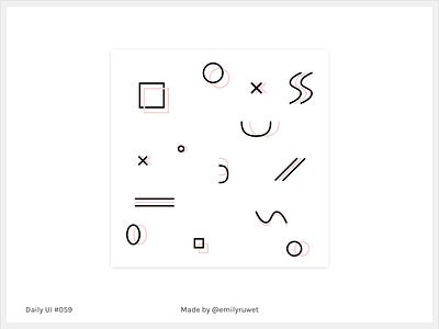 Dailyui 59 pattern background adobe ilustrator sketch app uxdesign uidesign dailyui