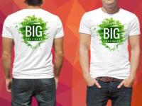 Watercolor T shirt design 2019