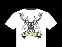Deer T Shirt Design Vector 01
