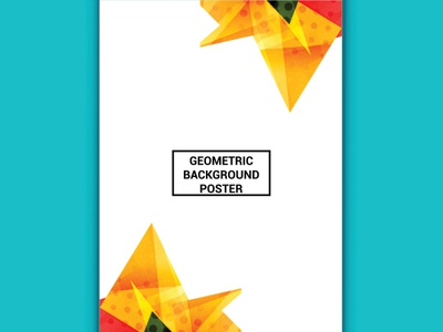 Geometric Shapes and Frames for Presentation, Annual Reports, Fl