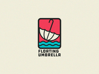 Floating Umbrella Logo