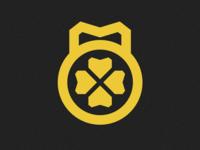 Lucky Barbell Crossfit Apparel Logo