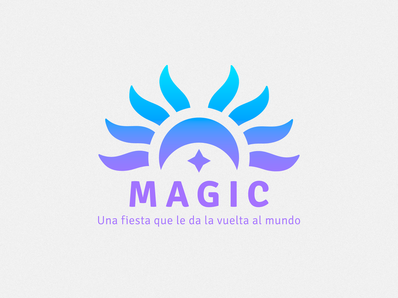 Magic Logo minimal guides concept character geometric abstract mark identity flat logomark illustration vector art graphic designer brand-design graphic-design branding logo design