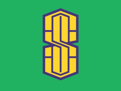 Cool S doodle type symbol guides concept geometric abstract mark identity flat logomark illustration art vector graphic designer brand-design graphic-design branding logo design