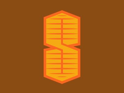 Cool S doodle 2d abstract mark art typography symbol concept geometric flat identity illustration vector designer brand-design graphic-design branding logomark logo graphic design