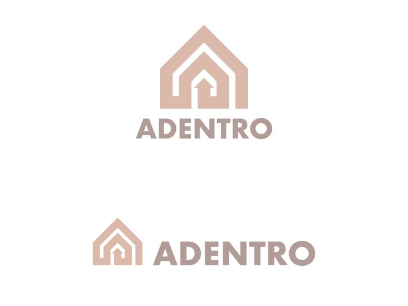 Interior Design Logo minimal guides character concept geometric abstract mark identity flat illustration art logomark vector graphic designer brand-design graphic-design branding logo design