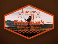 Fisherman's Badge