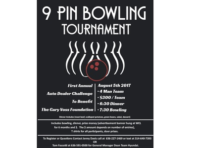 West County Lanes Poster