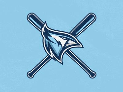 Bluejay Baseball Team Logo