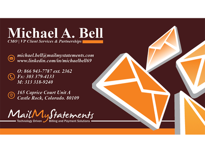 Business Card For MailMyStatements