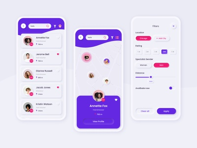 Beauty specialists search application figma neumorphic design neumorphic neumorphism ui neumorphism neumorph mobile app design mobile app mobile ui mobile