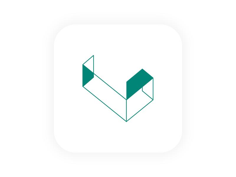 Logo/icon for LYSURES identity lettering minimal vector flat ui web logo icon app branding