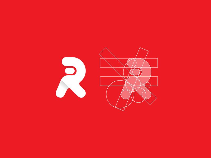 Logo for Raphaam Technologies vector ui flat logo icon design app branding