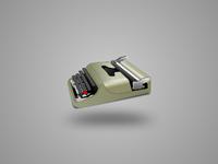 """Olivetti """"lettera 32"""" typewriter"""