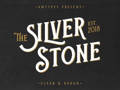 Silver Stone Font