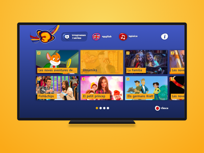 Super3 (HbbTV) kids broadcast video tv television smart hbbtv